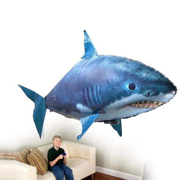 Air Shark™ – The Remote Controlled Fish Blimp