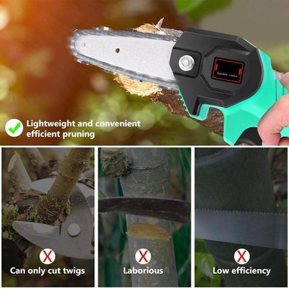 Rechargeable MINI lithium chainsaw