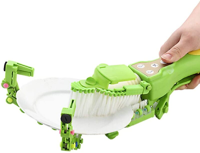 Automatic Dish Scrubber Brush, Cleans The Dishes No Need to Touch Oil, Suitable for Kitchen Tableware Cleaning