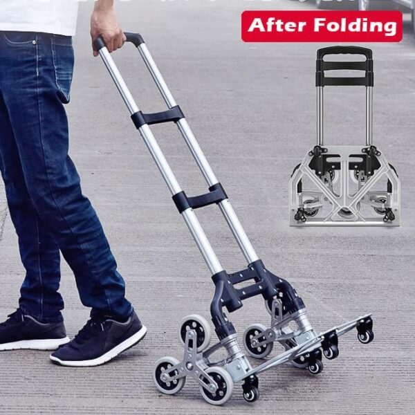 Folding Portable Cargo Trolley, Climbing Stairs